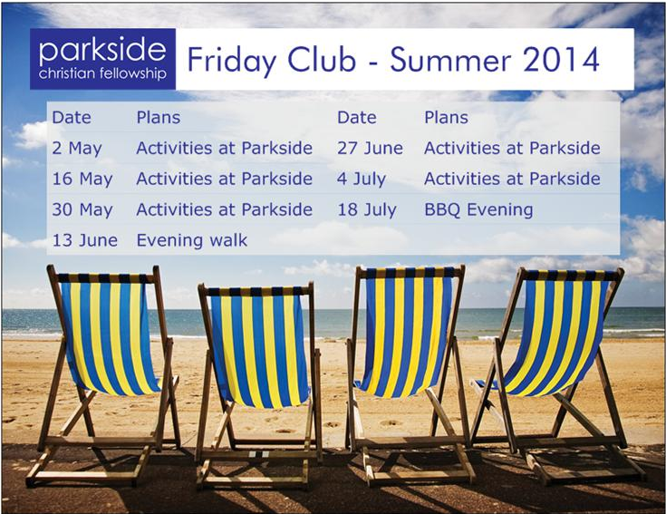 Friday Club Summer 2014