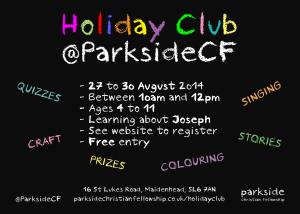 Holiday Club Invite card v1.1