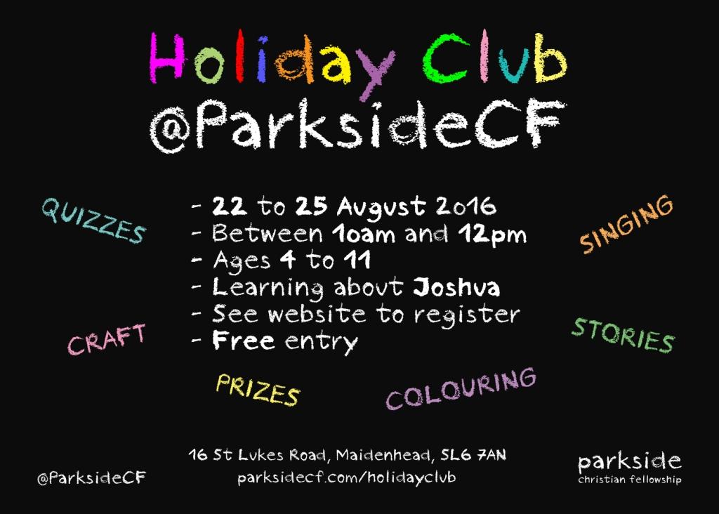 Holiday Club Invite card v1